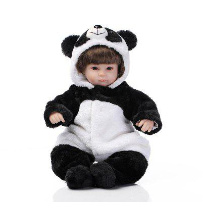 Emulate Reborn Baby Panda Doll Toy Gift Nurse Training Prop