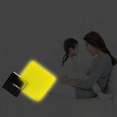Lenrit Sensor LED Night LightDecorative Lights<br>Lenrit Sensor LED Night Light<br><br>Brand: LENRIT<br>Material: ABS<br>Package Contents: 1 x Night Light<br>Package size (L x W x H): 14.00 x 11.00 x 4.00 cm / 5.51 x 4.33 x 1.57 inches<br>Package weight: 0.1200 kg<br>Power (W): 0 - 19W<br>Product size (L x W x H): 13.50 x 10.50 x 3.50 cm / 5.31 x 4.13 x 1.38 inches<br>Product weight: 0.1000 kg<br>Voltage(V): 110 - 240V