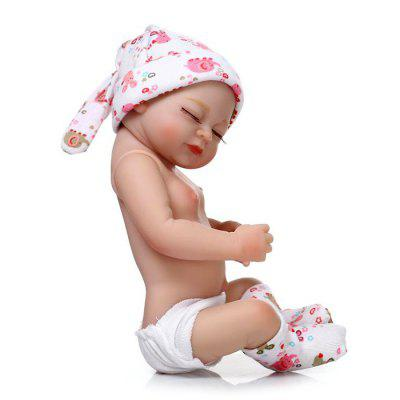 Mini Soft Silicone Baby Doll ToyStuffed Cartoon Toys<br>Mini Soft Silicone Baby Doll Toy<br><br>Features: Sleep Helping, Soft<br>Materials: Silica Gel<br>Package Contents: 1 x Doll Toy<br>Package size: 30.00 x 15.00 x 10.50 cm / 11.81 x 5.91 x 4.13 inches<br>Package weight: 0.6000 kg<br>Product size: 28.00 x 12.00 x 5.00 cm / 11.02 x 4.72 x 1.97 inches<br>Product weight: 0.4000 kg<br>Series: Reborn Doll<br>Theme: Baby Doll