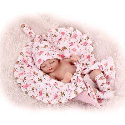 Mini Soft Silicone Baby Doll Toy