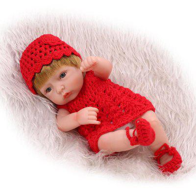 Mini Cute Soft Silicone Baby Doll Bath Toy