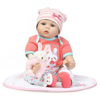 Eco-friendly Soft Silicone Reborn Baby Doll Toy Gift