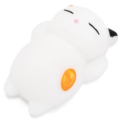Cute Cartoon Lazy Sleeping Cat TPR Jumbo Squishy Toy funny cute mini cartoon tpr animal jumbo squishy toy