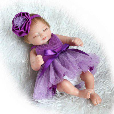 Cute Emulate Reborn Baby Doll Kids Toy Gift