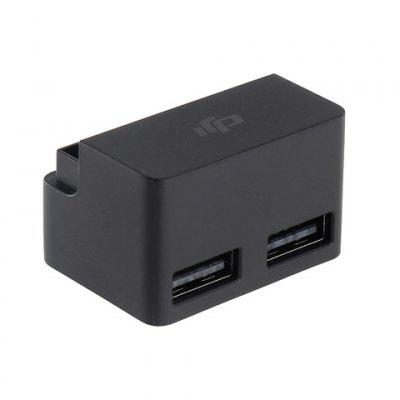 Original DJI Battery to Power Bank AdaptorRC Quadcopter Parts<br>Original DJI Battery to Power Bank Adaptor<br><br>Brand: DJI<br>Compatible with: Mavic Pro Intelligent Flight Battery<br>Package Contents: 1 x Mavic Pro Battery to Power Bank Adaptor<br>Package size (L x W x H): 10.00 x 7.00 x 4.00 cm / 3.94 x 2.76 x 1.57 inches<br>Package weight: 0.0400 kg<br>Type: Adapter