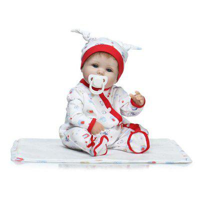 NPK Cute Emulation Reborn Baby Doll Toy