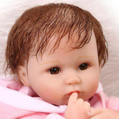Soft Sleeping Baby Doll ToyStuffed Cartoon Toys<br>Soft Sleeping Baby Doll Toy<br><br>Features: Sleep Helping, Soft<br>Materials: Silica Gel<br>Package Contents: 1 x Doll Toy, 1 x Mat, 1 x Bottle, 1 x Nipple<br>Package size: 21.50 x 14.50 x 41.50 cm / 8.46 x 5.71 x 16.34 inches<br>Package weight: 1.5000 kg<br>Product size: 40.00 x 24.00 x 12.00 cm / 15.75 x 9.45 x 4.72 inches<br>Product weight: 1.2000 kg<br>Series: Reborn Doll<br>Theme: Baby Doll
