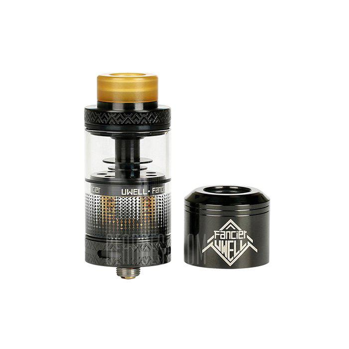 Uwell Fancier RTA / RDA Tank Atomizer - BLACK