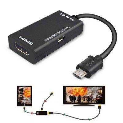 gocomma Micro USB to HDMI MHL Adapter hdmi mhl to hdmi