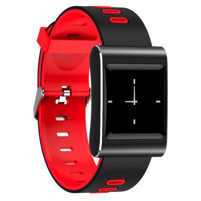 K88 Plus Smart WatchSmart Watches<br>K88 Plus Smart Watch<br><br>Alert type: Vibration<br>Band material: Silicone<br>Band size: 24.2 x 2.2cm<br>Battery  Capacity: 200mAh<br>Bluetooth calling: Caller ID display,Callers name display,Phone call reminder<br>Bluetooth Version: Bluetooth 4.0<br>Built-in chip type: NRF51822<br>Case material: Zinc Alloy<br>Charging Time: About 2hours<br>Compatability: Compatible for iOS 9.0 and above,  Android 4.4 and above<br>Compatible OS: Android, IOS<br>Dial size: 4.3 x 3.1 x 1.15cm<br>Find phone: Yes<br>Groups of alarm: 3<br>Health tracker: Blood Oxygen,Blood Pressure,Heart rate monitor,Pedometer,Sedentary reminder,Sleep monitor<br>IP rating: IP68<br>Language: Arabic,English,French,Japanese,Korean,Russian,Simplified Chinese,Spanish,Traditional Chinese<br>Locking screen: 3<br>Messaging: Message reminder<br>Notification: Yes<br>Notification type: Facebook, WhatsApp, Wechat, Instagram, Skype, Twitter, QQ<br>Operating mode: Touch Key<br>Other Function: Calendar, Bluetooth, Waterproof, Weather forecast, Alarm<br>Package Contents: 1 x Smart Watch, 1 x USB Charging Cable, 1 x Chinese - English User Manual<br>Package size (L x W x H): 12.00 x 12.00 x 6.00 cm / 4.72 x 4.72 x 2.36 inches<br>Package weight: 0.1200 kg<br>People: Female table,Male table<br>Product size (L x W x H): 24.20 x 3.10 x 1.15 cm / 9.53 x 1.22 x 0.45 inches<br>Product weight: 0.0600 kg<br>Remote control function: Remote Camera<br>ROM: 32KB<br>Screen: TFT<br>Screen size: 1.0 inch<br>Shape of the dial: Rectangle<br>Standby time: 40 days<br>Type of battery: Polymer Battery<br>Waterproof: Yes