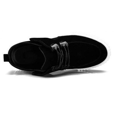 Leisure Simple SneakersCasual Shoes<br>Leisure Simple Sneakers<br><br>Contents: 1 x Pair of Shoes<br>Materials: Leather<br>Occasion: Casual<br>Package Size ( L x W x H ): 30.00 x 20.00 x 10.00 cm / 11.81 x 7.87 x 3.94 inches<br>Package weight: 0.7000 kg<br>Product weight: 0.6500 kg<br>Type: Casual Shoes