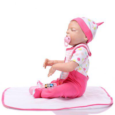 Cute Mini Simulation Soft Silicone Reborn Baby Doll ToyStuffed Cartoon Toys<br>Cute Mini Simulation Soft Silicone Reborn Baby Doll Toy<br><br>Features: Soft<br>Materials: Silica Gel<br>Package Contents: 1 x Doll Toy, 1 x Mat, 1 x Nipple, 1 x Bottle<br>Package size: 56.00 x 22.50 x 15.00 cm / 22.05 x 8.86 x 5.91 inches<br>Package weight: 1.9000 kg<br>Product size: 55.00 x 25.50 x 5.50 cm / 21.65 x 10.04 x 2.17 inches<br>Product weight: 1.6000 kg<br>Series: Reborn Doll<br>Theme: Baby Doll