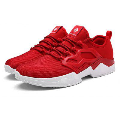 Men Chic Soft Anti-slip Breathable SneakersMen's Sneakers<br>Men Chic Soft Anti-slip Breathable Sneakers<br><br>Closure Type: Lace-Up<br>Contents: 1 x Pair of Shoes, 1 x Box<br>Decoration: Weave<br>Function: Slip Resistant<br>Materials: Mesh Fabric, Rubber<br>Occasion: Basketball, Sports, Shopping, Running, Riding, Daily, Casual<br>Outsole Material: Rubber<br>Package Size ( L x W x H ): 32.00 x 20.00 x 10.00 cm / 12.6 x 7.87 x 3.94 inches<br>Package weight: 0.7500 kg<br>Product weight: 0.7000 kg<br>Seasons: Autumn,Spring,Summer<br>Style: Leisure, Fashion, Comfortable<br>Toe Shape: Round Toe<br>Type: Sports Shoes<br>Upper Material: Mesh Fabric