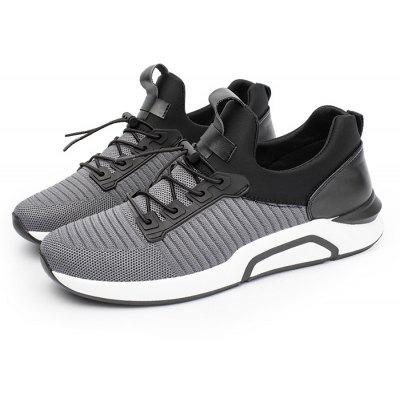 Men Chic Soft Ultralight Breathable Casual SneakersMen's Sneakers<br>Men Chic Soft Ultralight Breathable Casual Sneakers<br><br>Closure Type: Elastic band<br>Contents: 1 x Pair of Shoes, 1 x Box<br>Function: Slip Resistant<br>Materials: Knitted Fabric, Rubber<br>Occasion: Basketball, Shopping, Sports, Running, Riding, Daily, Casual<br>Outsole Material: Rubber<br>Package Size ( L x W x H ): 30.00 x 20.00 x 10.00 cm / 11.81 x 7.87 x 3.94 inches<br>Package weight: 0.6500 kg<br>Product weight: 0.6000 kg<br>Seasons: Autumn,Spring,Summer<br>Style: Leisure, Fashion, Comfortable<br>Toe Shape: Round Toe<br>Type: Sports Shoes<br>Upper Material: Knitted Fabric