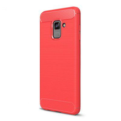 Naxtop Back Case for Samsung Galaxy A8 Plus 2018Samsung A Series<br>Naxtop Back Case for Samsung Galaxy A8 Plus 2018<br><br>Brand: Naxtop<br>Features: Anti-knock, Back Cover, Dirt-resistant<br>Material: Carbon Fiber, TPU<br>Package Contents: 1 x Case<br>Package size (L x W x H): 18.00 x 10.00 x 2.00 cm / 7.09 x 3.94 x 0.79 inches<br>Package weight: 0.0400 kg<br>Product size (L x W x H): 16.10 x 7.70 x 0.90 cm / 6.34 x 3.03 x 0.35 inches<br>Product weight: 0.0290 kg<br>Style: Modern