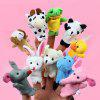 Jouet de Doigt en Peluche Design Animal de Dessin Animé Raconter Conte 10pcs - MULTICOLORE