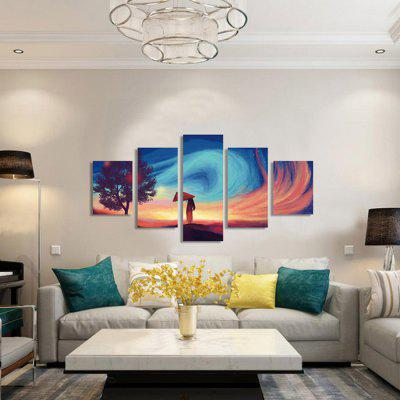 God Painting Amazing Pattern Print Decorative Canvas Decor 5pcsPrints<br>God Painting Amazing Pattern Print Decorative Canvas Decor 5pcs<br><br>Brand: God Painting<br>Craft: Print<br>Form: Five Panels<br>Material: Canvas<br>Package Contents: 5 x Print<br>Package size (L x W x H): 42.00 x 6.00 x 6.00 cm / 16.54 x 2.36 x 2.36 inches<br>Package weight: 0.4000 kg<br>Painting: Without Inner Frame<br>Product weight: 0.3600 kg<br>Shape: Vertical<br>Style: Amazing, Modern, Beautiful<br>Subjects: Others<br>Suitable Space: Bedroom,Cafes,Corridor,Dining Room,Hotel,Kids Room,Living Room