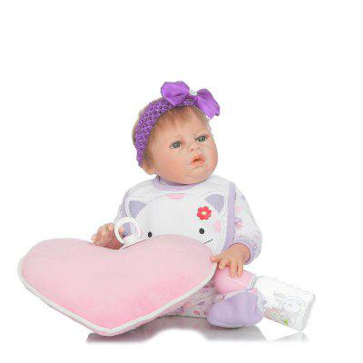 Emulate Reborn Baby Girl Doll Model Birthday Gift Kids ToyStuffed Cartoon Toys<br>Emulate Reborn Baby Girl Doll Model Birthday Gift Kids Toy<br><br>Features: Sleep Helping, Soft, Stuffed and Plush<br>Materials: Cloth, Silica Gel<br>Package Contents: 1 x Baby Doll, 1 x Pillow, 1 x Bottle, 1 x Nipple<br>Package size: 25.50 x 15.50 x 48.00 cm / 10.04 x 6.1 x 18.9 inches<br>Package weight: 1.8000 kg<br>Product size: 50.00 x 25.00 x 5.00 cm / 19.69 x 9.84 x 1.97 inches<br>Product weight: 1.5000 kg<br>Series: Reborn Doll<br>Theme: Baby Doll