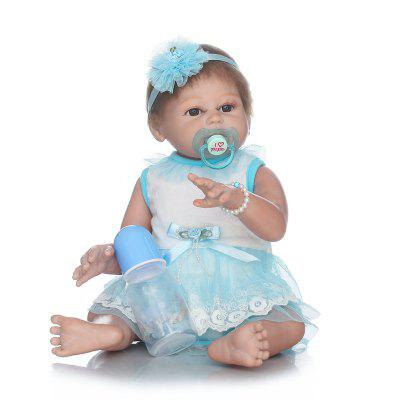 Full Silicone Reborn Baby Doll Simulation Kids Gift Toy