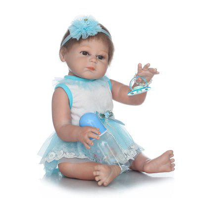 Full Silicone Reborn Baby Doll Simulation Kids Gift ToyStuffed Cartoon Toys<br>Full Silicone Reborn Baby Doll Simulation Kids Gift Toy<br><br>Features: Sleep Helping, Soft, Stuffed and Plush<br>Materials: Cloth, Silica Gel<br>Package Contents: 1 x Baby Doll, 1 x Bottle, 1 x Nipple<br>Package size: 25.50 x 15.50 x 48.00 cm / 10.04 x 6.1 x 18.9 inches<br>Package weight: 1.8000 kg<br>Product size: 50.00 x 25.00 x 5.00 cm / 19.69 x 9.84 x 1.97 inches<br>Product weight: 1.5000 kg<br>Series: Reborn Doll<br>Theme: Baby Doll