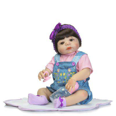 Reborn Baby Girl Doll Bathing Pretend Play Toy GiftStuffed Cartoon Toys<br>Reborn Baby Girl Doll Bathing Pretend Play Toy Gift<br><br>Features: Sleep Helping, Soft, Stuffed and Plush<br>Materials: Cloth, Silica Gel<br>Package Contents: 1 x Baby Doll, 1 x Mat, 1 x Bottle, 1 x Nipple<br>Package size: 55.00 x 22.50 x 15.00 cm / 21.65 x 8.86 x 5.91 inches<br>Package weight: 1.9000 kg<br>Product size: 55.00 x 25.50 x 5.50 cm / 21.65 x 10.04 x 2.17 inches<br>Product weight: 1.6000 kg<br>Series: Reborn Doll<br>Theme: Baby Doll