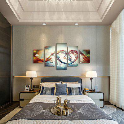 God Painting Canvas Prints Heart Shape Crystal Wall Art 5PCSPrints<br>God Painting Canvas Prints Heart Shape Crystal Wall Art 5PCS<br><br>Brand: God Painting<br>Craft: Print<br>Form: Five Panels<br>Material: Canvas<br>Package Contents: 5 x Print<br>Package size (L x W x H): 42.00 x 6.00 x 6.00 cm / 16.54 x 2.36 x 2.36 inches<br>Package weight: 0.4000 kg<br>Painting: Without Inner Frame<br>Product weight: 0.3600 kg<br>Shape: Vertical<br>Style: Modern<br>Subjects: Others<br>Suitable Space: Living Room