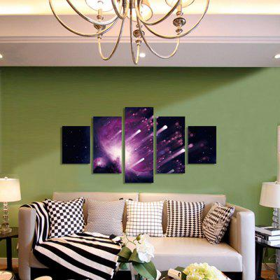 God Painting Canvas Prints Starlight Hanging Wall Art 5PCSPrints<br>God Painting Canvas Prints Starlight Hanging Wall Art 5PCS<br><br>Brand: God Painting<br>Craft: Print<br>Form: Five Panels<br>Material: Canvas<br>Package Contents: 5 x Print<br>Package size (L x W x H): 42.00 x 6.00 x 6.00 cm / 16.54 x 2.36 x 2.36 inches<br>Package weight: 0.4000 kg<br>Painting: Without Inner Frame<br>Product weight: 0.3600 kg<br>Shape: Vertical<br>Style: Modern<br>Subjects: Landscape<br>Suitable Space: Living Room