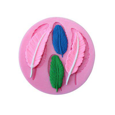 Elegant Feather Design Cake Mold Silicone Candy Bakery ToolBaking &amp; Pastry Tools<br>Elegant Feather Design Cake Mold Silicone Candy Bakery Tool<br><br>Material: Silicone<br>Package Contents: 1 x Cake Mold<br>Package size (L x W x H): 10.00 x 10.00 x 1.50 cm / 3.94 x 3.94 x 0.59 inches<br>Package weight: 0.0600 kg<br>Product size (L x W x H): 8.80 x 8.80 x 0.80 cm / 3.46 x 3.46 x 0.31 inches<br>Product weight: 0.0500 kg<br>Type: Bakeware