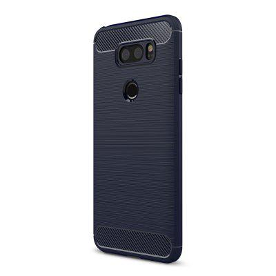 Naxtop Protective Phone Back Case for LG V30Cases &amp; Leather<br>Naxtop Protective Phone Back Case for LG V30<br><br>Brand: Naxtop<br>Features: Anti-knock, Back Cover, Dirt-resistant<br>Material: Carbon Fiber, TPU<br>Package Contents: 1 x Case<br>Package size (L x W x H): 17.00 x 10.00 x 2.00 cm / 6.69 x 3.94 x 0.79 inches<br>Package weight: 0.0400 kg<br>Product Size(L x W x H): 15.30 x 7.60 x 1.00 cm / 6.02 x 2.99 x 0.39 inches<br>Product weight: 0.0240 kg<br>Style: Modern