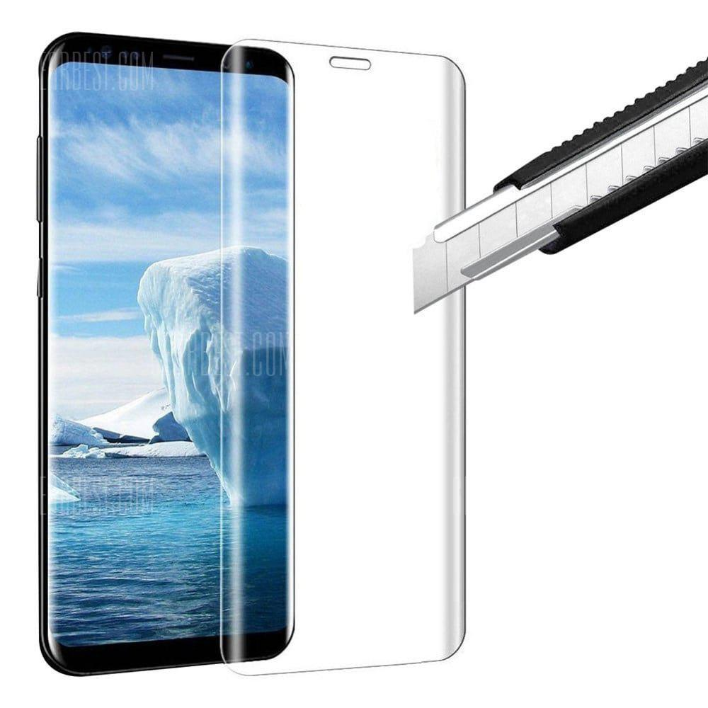Naxtop Tempered Glass for Samsung Galaxy S9 Plus