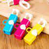 Fresh Food Snack Bread Bag Sealing Clip Sealer 3pcs - ROSE RED