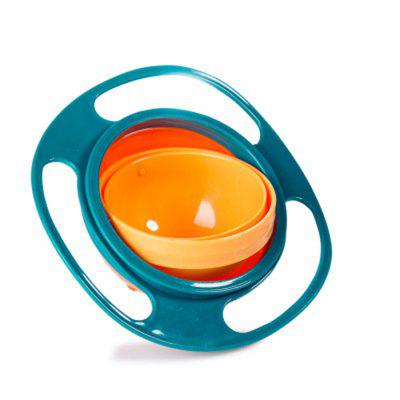 Baby Kid 360 Degree Rotary UFO Bowl Toy