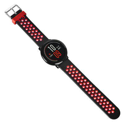 TAMISTER 22mm Silicone Strap for HUAMI Amazfit Smartwatch аксессуар ремешок sony swr510 для smartwatch 3 silicone strap pink 1287 7109