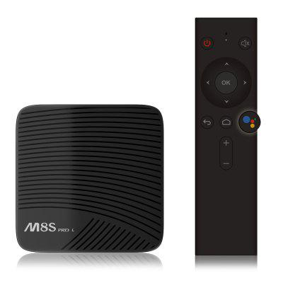 Mecool M8S PRO L 4K TV Box Amlogic S912 Bluetooth 4.1 + HS - EU PLUG VOICE REMOTE CONTROL ( 3GB RAM + 32GB ROM ) 2