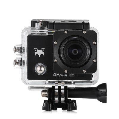 Q6 WiFi 4K Ultra HD Action Sport CameraAction Cameras<br>Q6 WiFi 4K Ultra HD Action Sport Camera<br><br>Aerial Photography: No<br>Anti-shake: No<br>Audio System: Built-in microphone/speaker (AAC)<br>Auto Focusing: No<br>Battery Capacity (mAh): 900mAh<br>Battery Type: External<br>Camera Pixel: 16MP<br>Camera Timer: Yes<br>Charge way: AC adapter,Car charger,USB charge by PC<br>Charging Time: 2h<br>Chipset: Allwinner V3<br>Chipset Name: Allwinner<br>Decode Format: H.264<br>Features: Wireless<br>Frequency: 50Hz,60Hz,Auto<br>Function: Camera Timer<br>Image Format: JPEG<br>Interface Type: Micro HDMI, Micro USB, TF Card Slot<br>ISO: Auto,ISO100,ISO1600,ISO200,ISO400,ISO800<br>Language: Deutsch,Dutch,English,French,Italian,Japanese,Korean,Polski,Portuguese,Russian,Simplified Chinese,Spanish,Thai,Traditional Chinese,Turkish<br>Lens Diameter: 17mm<br>Max External Card Supported: TF 64G (not included)<br>Microphone: Built-in<br>Model: Q6<br>Night vision: No<br>Optical Zoom: Yes<br>Package Contents: 1 x Action Camera, 1 x Waterproof Housing + Mount + Screw, 1 x English User Manual, 1 x Power Adapter, 1 x Handle Bar Mount, 1 x J-shaped Mount, 3 x Connector, 3 x Screw, 1 x Tripod Mount, 1 x Tripod<br>Package size (L x W x H): 16.40 x 6.00 x 27.00 cm / 6.46 x 2.36 x 10.63 inches<br>Package weight: 0.5780 kg<br>Product size (L x W x H): 6.00 x 3.00 x 4.00 cm / 2.36 x 1.18 x 1.57 inches<br>Product weight: 0.0580 kg<br>Screen resolution: 320x240<br>Screen size: 2.0inch<br>Screen type: LCD<br>Standby time: 70 minutes<br>Time lapse: Yes<br>Type: Sports Camera<br>Type of Camera: 4K<br>Video format: MP4<br>Video Frame Rate: 30FPS,60FPS,90fps<br>Video Resolution: 1080P(30fps),1080P(60fps),2.7K (30fps),4K (30fps),720P (90fps)<br>Waterproof: Yes<br>Waterproof Rating: IP68, 30m waterproof<br>Wide Angle: 170 degree wide angle<br>WIFI: Yes<br>WiFi Distance: 5m<br>WiFi Function: Image Transmission,Remote Control,Settings,Sync and Sharing Albums<br>Working Time: 90min at 1080P