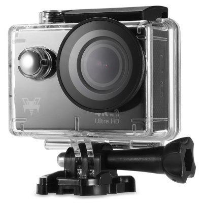 H9R Waterproof Action Camera 4K Ultra HD ResolutionAction Cameras<br>H9R Waterproof Action Camera 4K Ultra HD Resolution<br><br>Aerial Photography: No<br>Anti-shake: No<br>Application: Bike, Underwater, Ski, Extreme Sports, Motorcycle<br>Auto Focusing: No<br>Battery Capacity (mAh): 1050mAh<br>Battery Type: Built-in<br>Charge way: USB charge by PC<br>Charging Time: 3h<br>Chipset: Sunplus 6350<br>Chipset Name: Sunplus<br>Features: Wireless, Mini<br>Function: WiFi<br>Image Format: JPG<br>Lens Diameter: 17.5mm<br>Max External Card Supported: TF 32G (not included)<br>Model: H9R<br>Night vision: No<br>Package Contents: 1 x Action Camera, 1 x Waterproof Case, 2 x Flat Surface Mount with Adhesive Sticker, 1 x J-Hook Buckle, 1 x Backpack Clip Mount, 1 x Remote Control, 3 x Handlebar Seatpost Mount, 1 x Wrist Band, 1 x<br>Package size (L x W x H): 27.20 x 17.00 x 7.00 cm / 10.71 x 6.69 x 2.76 inches<br>Package weight: 0.4580 kg<br>Product size (L x W x H): 7.00 x 8.00 x 8.00 cm / 2.76 x 3.15 x 3.15 inches<br>Product weight: 0.1370 kg<br>Remote Control: Yes<br>Screen: With Screen<br>Screen resolution: 320x240<br>Screen size: 2.0inch<br>Screen type: LCD<br>Standby time: 3h<br>Type: Sports Camera<br>Type of Camera: 4K<br>Video format: MOV<br>Video Frame Rate: 120fps,25fps,30FPS,60FPS<br>Video Resolution: 1080P(30fps),1080P(60fps),2.7K (30fps),4K (25fps),720P (120fps),720P (60fps)<br>Water Resistant: 30m ( with a waterproof case )<br>Waterproof: Yes<br>Waterproof Rating: IP68 ( with a waterproof case )<br>Wide Angle: 170 degree wide angle<br>WIFI: Yes<br>WiFi Distance: 10m<br>WiFi Function: Remote Control<br>Working Time: 60 mins ( in 4K 30fps mode )
