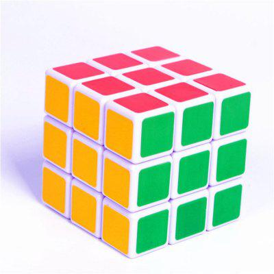 ABS Ultra-Smooth Professional Speed Magic Cube Puzzle Twist Toy Rubik yj guanlong speed third order magic cube toy