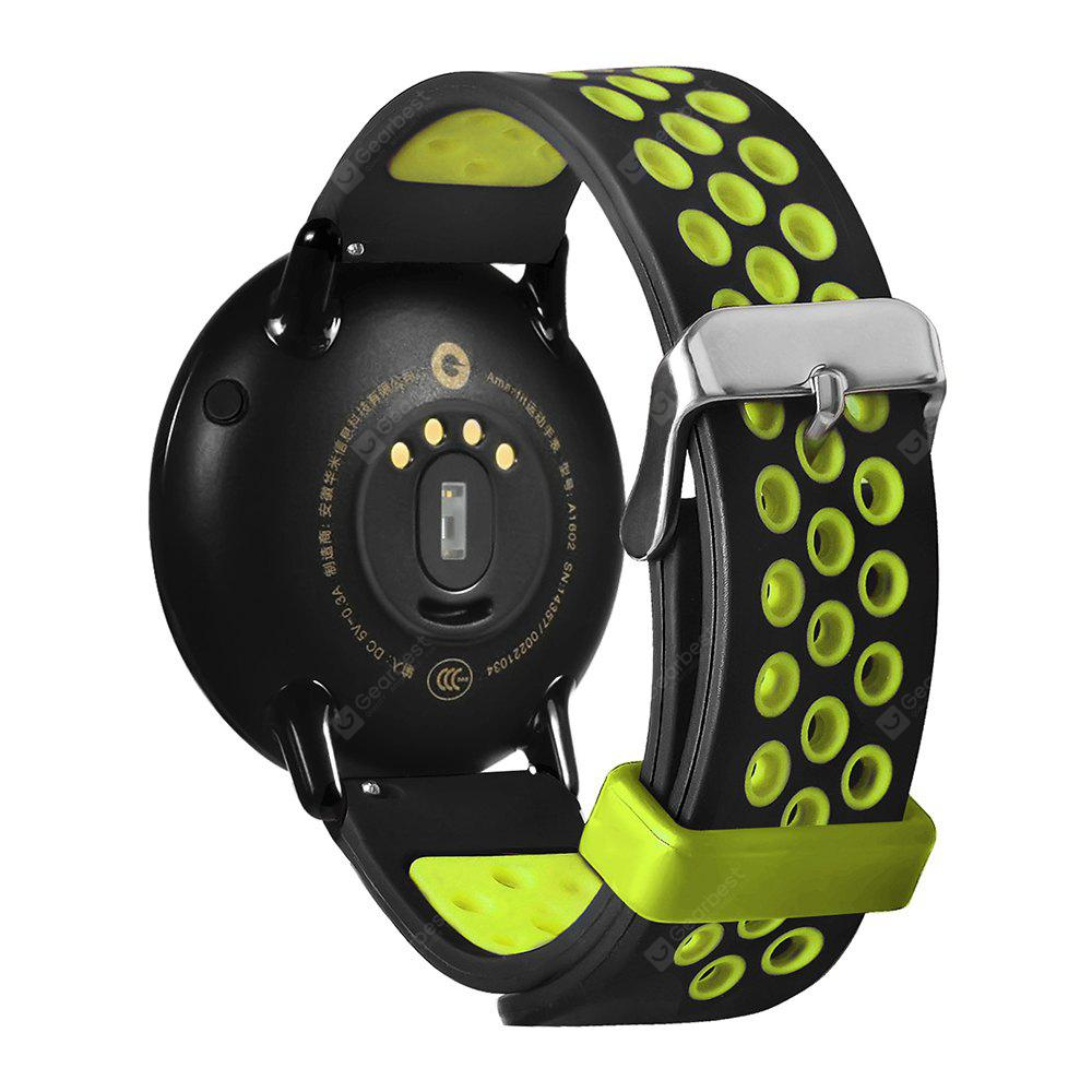 Tamister 22mm Silicone Strap For Huami Amazfit Smartwatch 488 Xiaomi Pace 2 Stratos Cover Bumper Case Shell Frame Protector Free Shipping