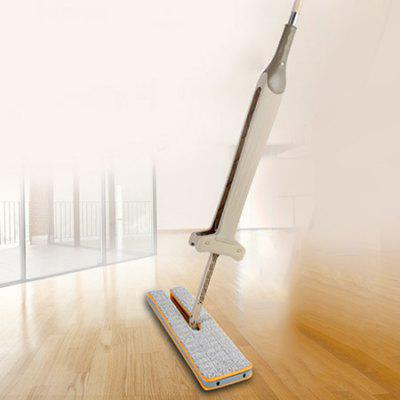 4-en-1 Rotary Double Sides Lazy Flat Mop
