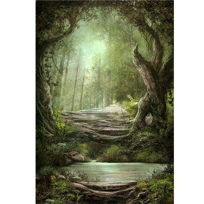 Photographic Backdrops Cloth Forest Photo Background
