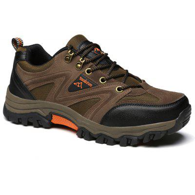 Men Outdoor Crash Toe Breathable Hiking Athletic Shoes
