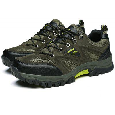 Men Outdoor Crash Toe Breathable Hiking Athletic ShoesAthletic Shoes<br>Men Outdoor Crash Toe Breathable Hiking Athletic Shoes<br><br>Closure Type: Lace-Up<br>Contents: 1 x Pair of Shoes, 1 x Box<br>Function: Slip Resistant<br>Materials: Suede, Mesh Fabric, Rubber<br>Occasion: Shopping, Sports, Running, Riding, Outdoor Clothing, Casual<br>Outsole Material: Rubber<br>Package Size ( L x W x H ): 30.00 x 20.00 x 10.00 cm / 11.81 x 7.87 x 3.94 inches<br>Package weight: 0.8500 kg<br>Product weight: 0.8000 kg<br>Seasons: Autumn,Spring,Summer<br>Style: Leisure, Fashion, Comfortable<br>Toe Shape: Round Toe<br>Type: Sports Shoes