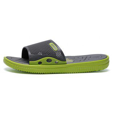 Men Cool Sporty Hollow Casual Home Street SlippersMens Slippers<br>Men Cool Sporty Hollow Casual Home Street Slippers<br><br>Closure Type: Slip-On<br>Contents: 1 x Pair of Shoes, 1 x Box, 1 x Dustproof Paper<br>Decoration: Hollow Out<br>Function: Slip Resistant<br>Materials: MD, TPU<br>Occasion: Rainy Day, Outdoor Clothing, Holiday, Casual, Beach<br>Outsole Material: MD<br>Package Size ( L x W x H ): 33.00 x 22.00 x 11.00 cm / 12.99 x 8.66 x 4.33 inches<br>Package weight: 0.5500 kg<br>Pattern Type: Solid<br>Product weight: 0.4000 kg<br>Seasons: Spring,Summer<br>Style: Modern, Leisure, Fashion, Comfortable, Casual<br>Toe Shape: Open Toe<br>Type: Slippers<br>Upper Material: TPU