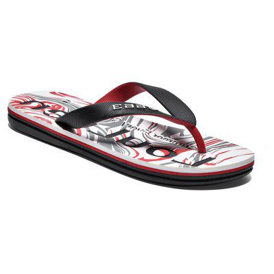 Men Flip Flops with Letters MotifsMens Slippers<br>Men Flip Flops with Letters Motifs<br><br>Contents: 1 x Pair of Shoes<br>Materials: EVA, Rubber<br>Package Size ( L x W x H ): 33.00 x 22.00 x 11.00 cm / 12.99 x 8.66 x 4.33 inches<br>Package weight: 0.5500 kg<br>Product weight: 0.4000 kg<br>Seasons: Summer<br>Style: Casual<br>Type: Slippers