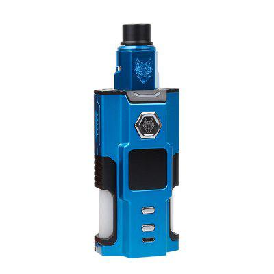 Buy SnowWolf Vfeng Squonk 120W Starter Kit BLUE for $89.99 in GearBest store