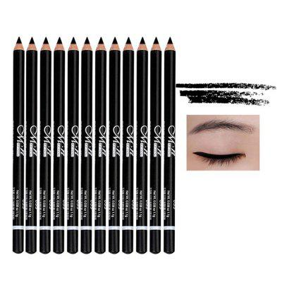MENOW Waterproof Lasting Eyeliner Pencil 12pcs