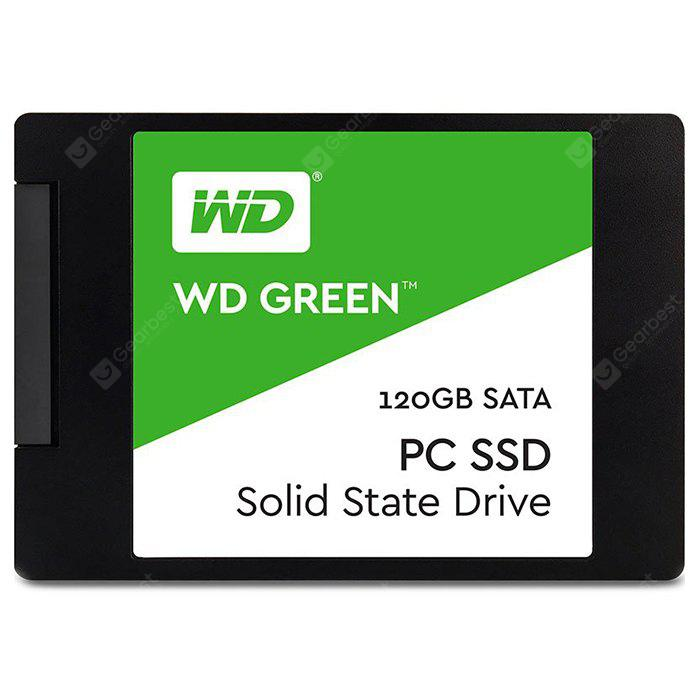 WD Green Solid State Drive 120G - GREEN 120G
