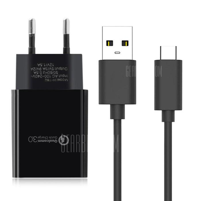 gocomma Travel Charger Kit Type-C USB Adapter