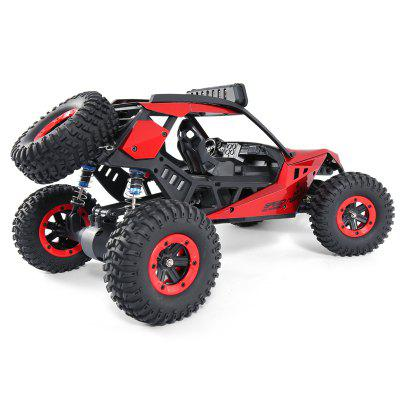 JJRC Q46 SPEED RUNNER 1:12 4WD RC Off-road CarRC Cars<br>JJRC Q46 SPEED RUNNER 1:12 4WD RC Off-road Car<br><br>Battery Information: 7.4V 3000mAh LiPo<br>Brand: JJRC<br>Car Power: 1 x Lithium Battery (included)<br>Charging Time: 2.5 Hours<br>Detailed Control Distance: About 100m<br>Drive Type: 4 WD<br>Functions: Brake, LED, Speed up, Turn left/right, Forward/backward<br>Package Contents: 1 x RC Car ( Battery Included ), 1 x Transmitter, 1 x English Manual, 1 x Screwdriver, 1 x Charger, 1 x Cross Wrench<br>Package size (L x W x H): 39.50 x 27.50 x 21.50 cm / 15.55 x 10.83 x 8.46 inches<br>Package weight: 1.9650 kg<br>Product size (L x W x H): 38.50 x 23.00 x 18.00 cm / 15.16 x 9.06 x 7.09 inches<br>Product weight: 1.6090 kg<br>Proportion: 1:12<br>Racing Time: 8~9mins<br>Remote Control: 2.4GHz Wireless Remote Control<br>Servo Type: 540 level 25G<br>Speed: max 45km/h<br>Transmitter Power: 4 x 1.5V AA (not included)<br>Type: Off-Road Car