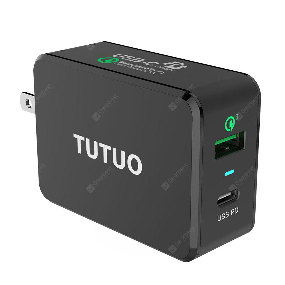 TUTUO PD - 030PT Type-C QC3.0 Multi-port Charging Charger